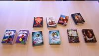 Die ausgewählten Bücher liegen auf einem Tisch