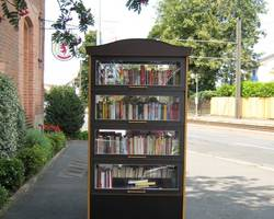 Menu: Bücherschränke