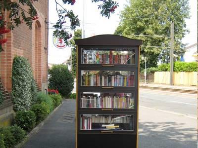 Bücherschränke © Stadtbücherei