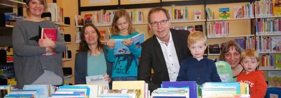 Eröffnung der Elternbibliothek
