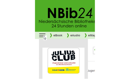 Screenshot vom Julius-Button